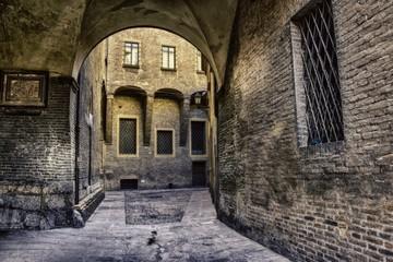 Cityscape of Bologna Italy