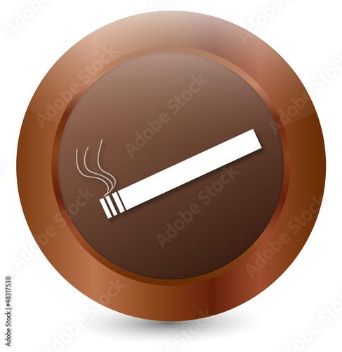Vektor Zigarette weiss
