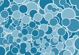 A vector illustration of bubbles background . - 48318509