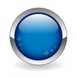 BLANK web button (round dark blue metallic blank gel)