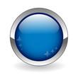 BLANK web button (round dark blue metallic blank gel)