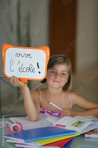 French schoolgirl