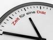 Zeit für eine Diät
