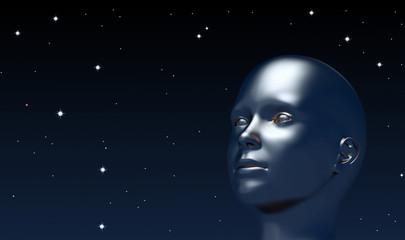 looking up at universe