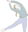 Yoga - Übung - Meditation - Entspannung - Gesundheit