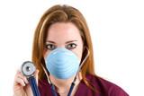 Woman Nurse Stethoscope