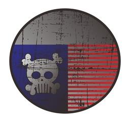 skull of america