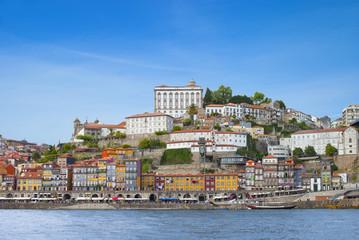 Porto city and river Douro, cityscape