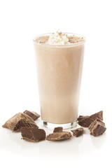 Rich and Creamy Chocolate Milkshake