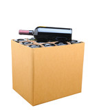 Case of Wine Isolated