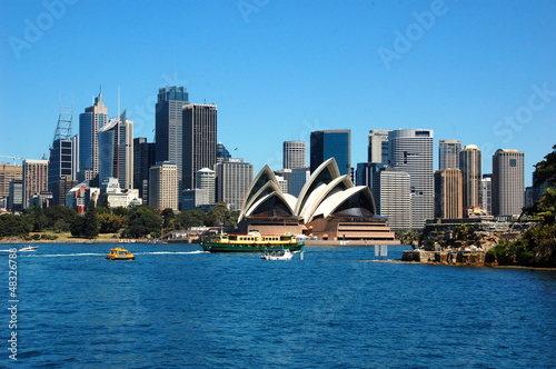 View on the Sydney Opera House. Sydney, Australia - 48326788