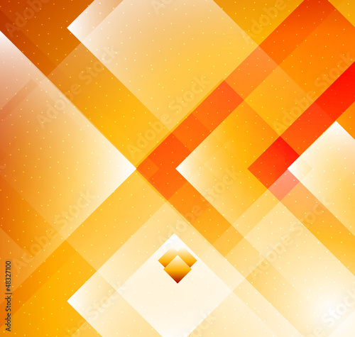 Grometric Orange background