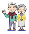 Mr. and Mrs. old man