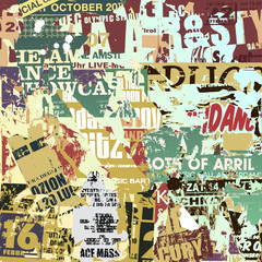 Old Torn Posters