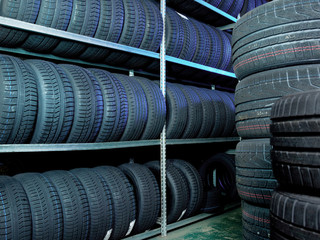 Store for tires