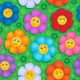 Flowery seamless background 8