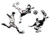 soccer trio