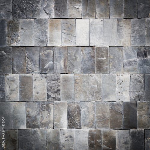 Square shot of marble wall, dark edges