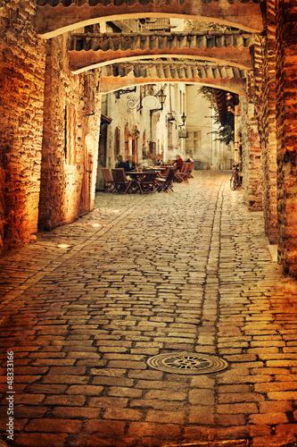 stara-fotografia-europejska-ulica