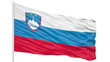 Looping of the Slovenia flag