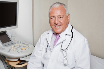 Male Radiologist Smiling