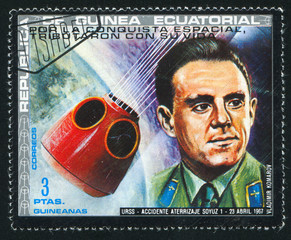 astronaut Vladimir Komarov