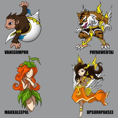 Mythical Creatures Set 09