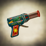 retro space gun