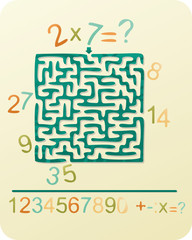 Number's Maze