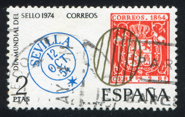 Spanish postage stamps