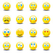 Smilies Smiley Emoticon faces icon set 1