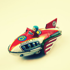 retro rocket racer