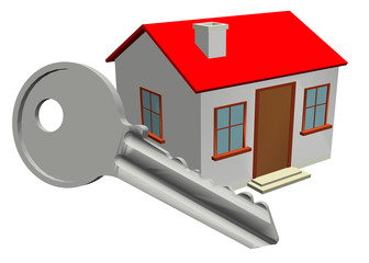 HOME AND KEY - 3D