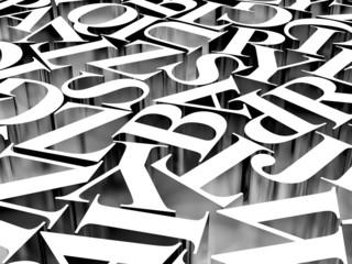 Background of alphabets