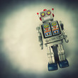 tin retro robot