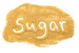 Sugar written in sugar