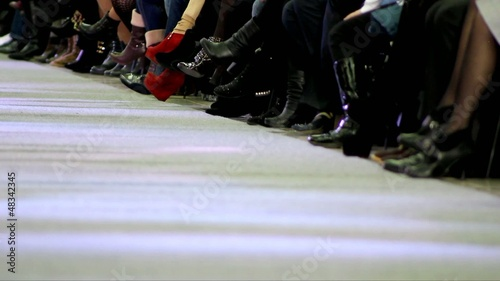 catwalk at fashion show