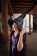 Cute Child Witch
