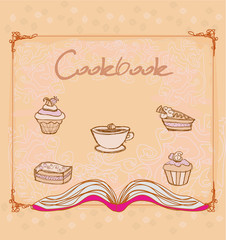 Cookbook - vector illustration
