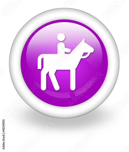 "Violet Icon ""Horse Trail"""