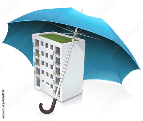 Assurance de la copropriété (reflet)