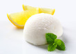 Lemon ice cream