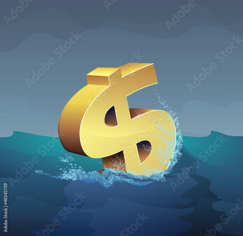 Dollar in the storm