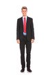 confident young businessman standing
