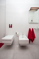 Cloudy home - bathroom equipment