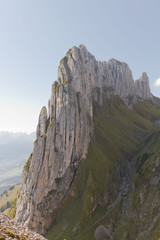 Karst rock ridge, Switzerland
