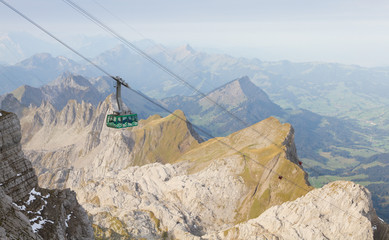 cable car in Switzerland