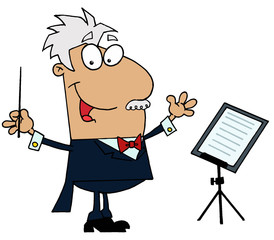 Music Conductor Man