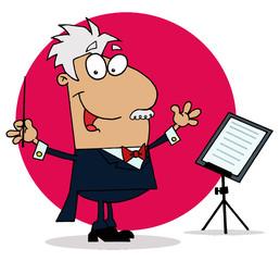 Conducting Man