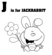 J Is For Jackrabbit Text